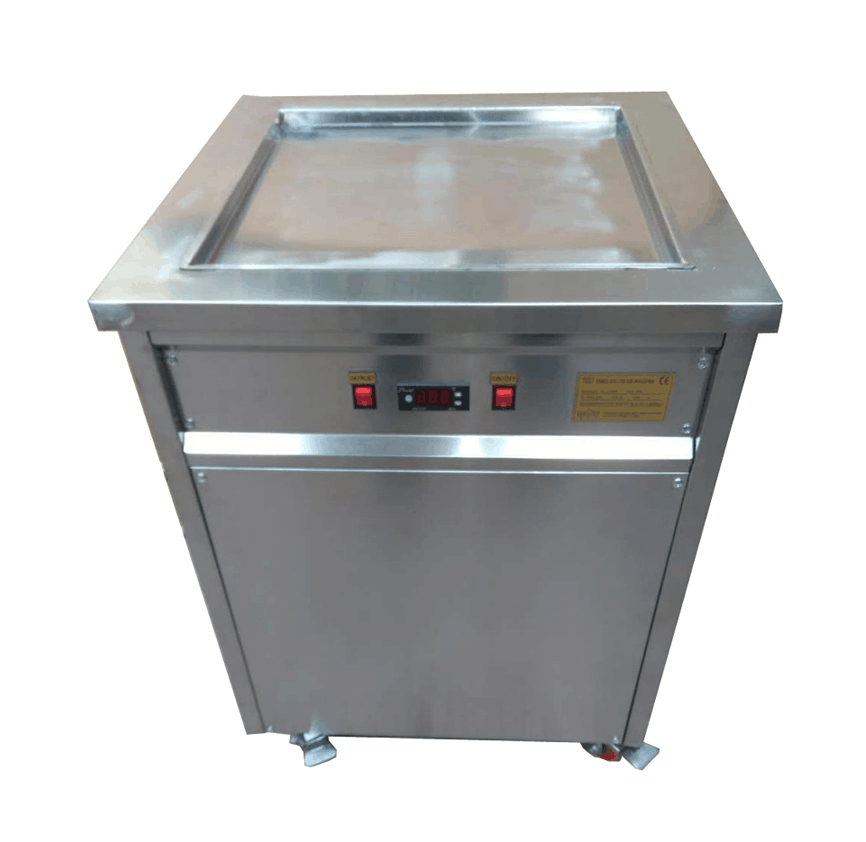 2020 New Thailand Commercial Fried Ice Cream Roller / Ice Whipping Machine