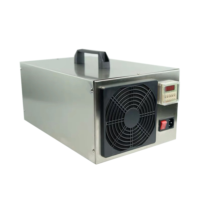 Best selling 60g/h Mobile Stainless Steel Air Disinfection Ozone Generator air cleaner With factory price