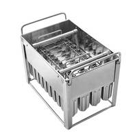 30/40pcs/time Commercial Stainless Steel Popsicle Making Molds
