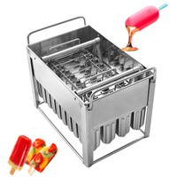 Popsicle Machine Customized Ice Cream Tools Popsicle Moulds With Brazil Molds