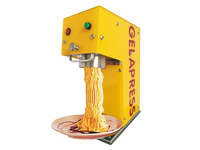 Noodle ice cream machine