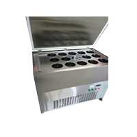 Efficient Powerful 15x2.2L R410A Block Ice Crusher Machine