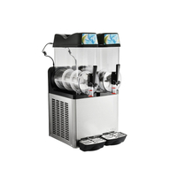 Double Flavors 12L Tank Granita Slush Machine
