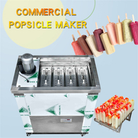 Newest Italy standard 4 moulds Ice lolly Machine For Thailand