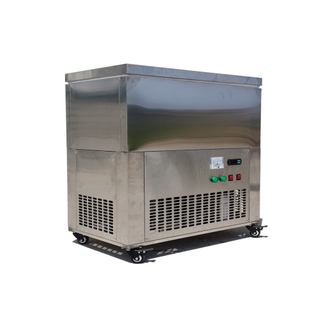 9x2.2L Shaved Industrial R410A Block Ice Crusher Machine