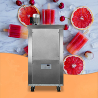 1 Mold Cooling Fast Ice Lolly Popsicle Machine For Sale