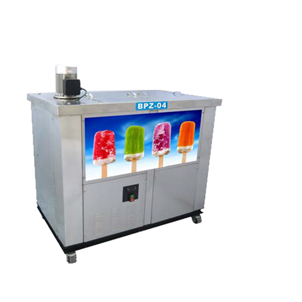 Large production stainless steel popsicle ice lolly machine